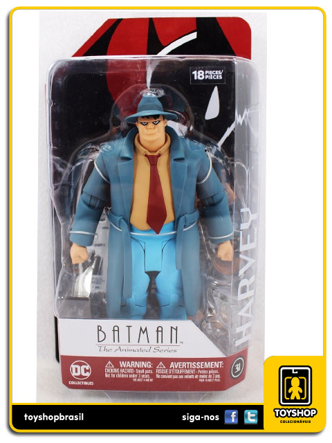 Batman The Animated Series: Harvey Bullock - Dc Collectibles
