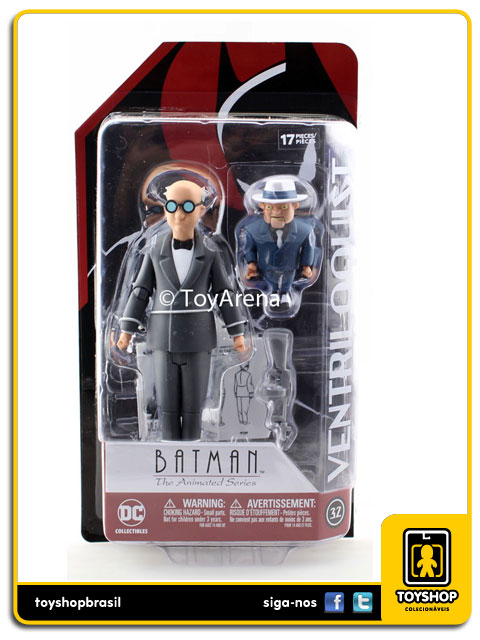 Batman The Animated Series: Ventriloquist & Scarface - Dc Collectibles