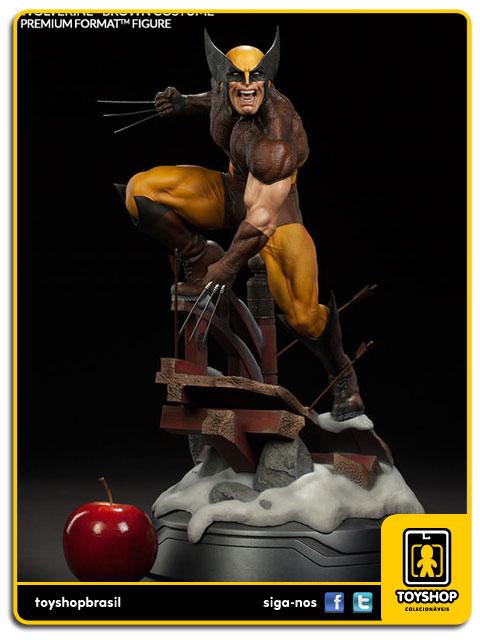 Marvel: Wolverine (Brown Costume) Premium Format - Sideshow Collectibles