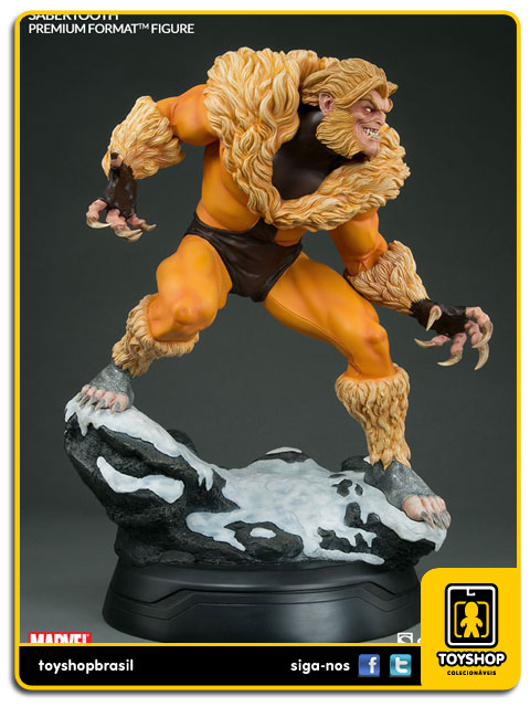 Marvel: Sabretooth Classic Costume Premium Format - Sideshow Collectibles