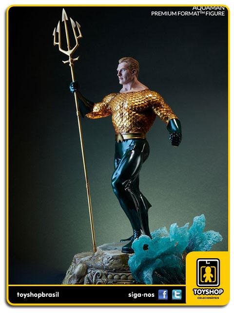 DC Comics: Aquaman Premium Format Exclusiva - Sideshow Collectibles