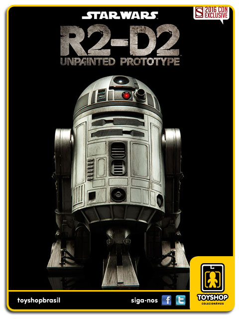 Star Wars: R2-D2 Unpainted Prototype Sixth Scale 1/6 - Sideshow
