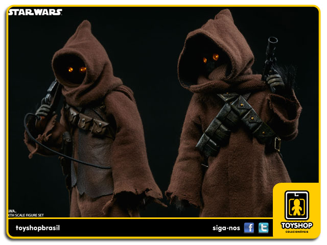 Star Wars: Jawa 2 pack Sixth Scale 1/6 - Sideshow
