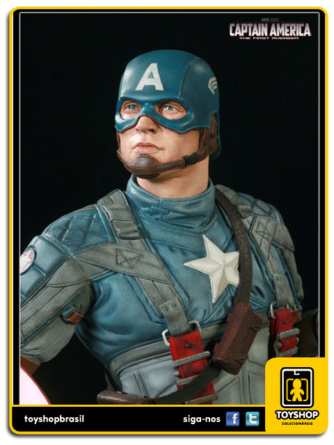 Captain America The First Avenger: Captain America Premium Format Exclusiva - Sideshow Collectibles