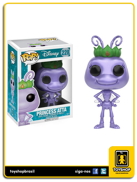 Disney A Bugs Live: Princess Atta Pop - Funko