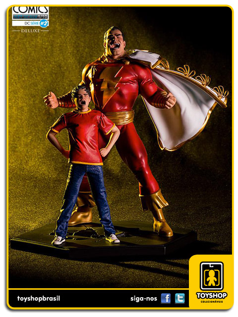 DC Comics Série 2 Shazam 1/10 Art Scale Iron Studios