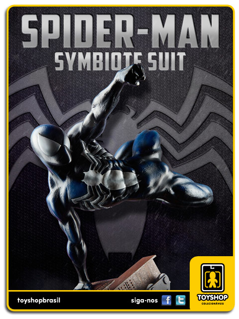 The Amazing Spider-Man: Spider-Man Black Costume Premium Format - Sideshow Collectibles