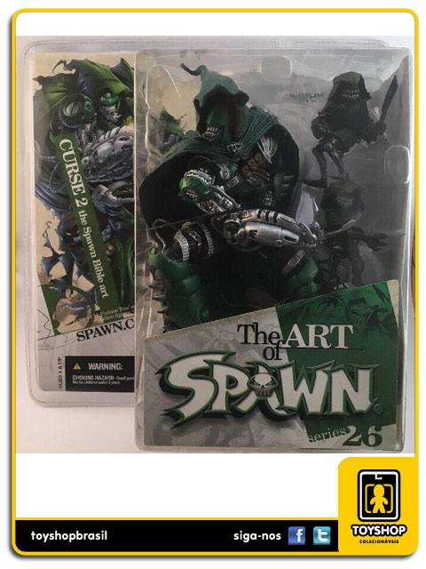 Spawn 26:  Curse 2 the Spawn Bible art - Mcfarlane