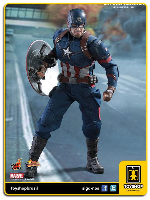 Captain America Civil War: Captain America - Hot Toys