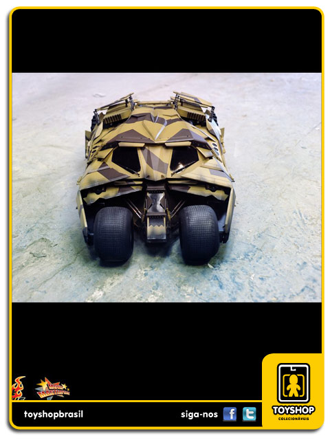 Batman The Dark Knight Rises : Batmobile Tumbler (Camouflage Version) - Hot Toys