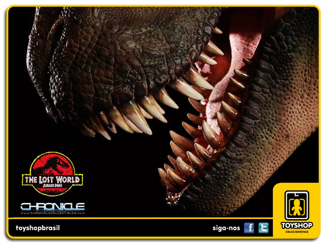 The Lost World Jurassic Park: T-Rex 1:5 Scale Bust - Chronicle Collectibles