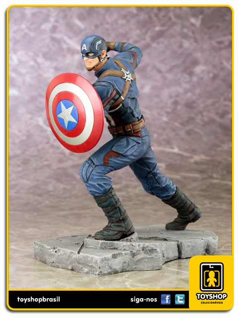 Captain America Civil War:  Captain America 1/10 Artfx - Kotobukiya