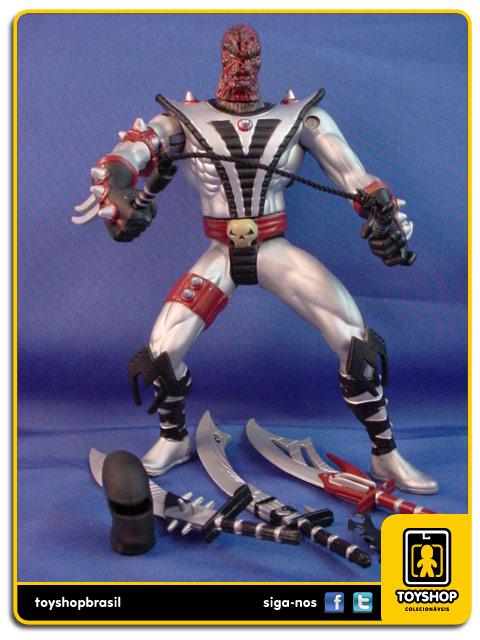 Spawn Série 3: Silver Ninja Spawn - Mcfarlane