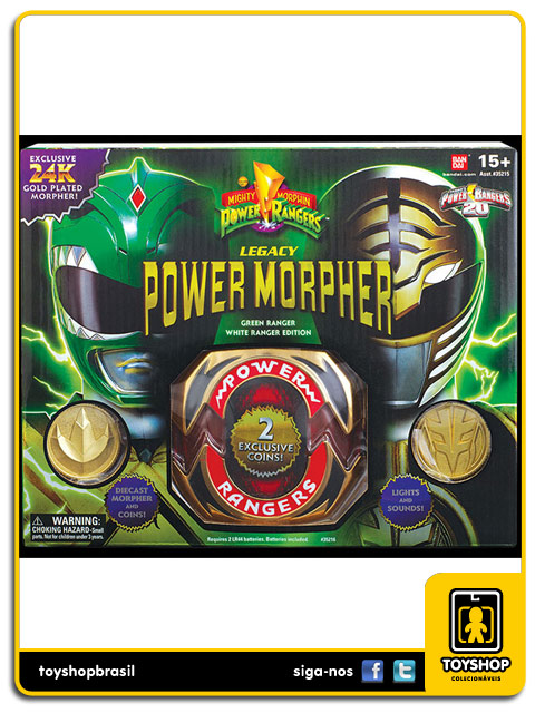 Power Rangers: Legacy Power Morpher Green Ranger SDCC - Bandai