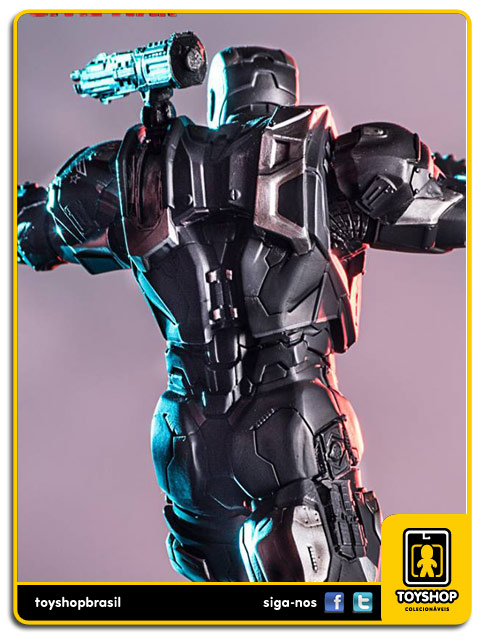 Captain America Civil War: Estátua War Machine   Art Scale 1/10 - Iron Studios