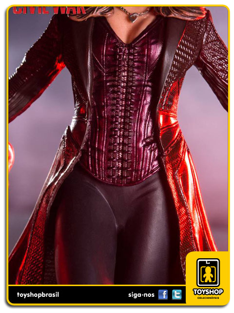 Captain America Civil War: Estátua Scarlet Witch   Art Scale 1/10 - Iron Studios