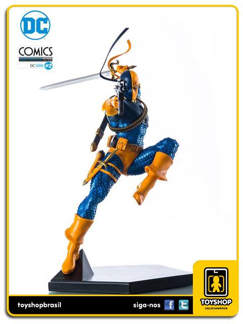 DC Comics Serie 2: Deathstroke 1/10 - Iron Studios