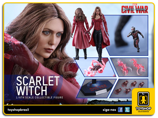 Captain America Civil War: Scarlet Witch - Hot Toys