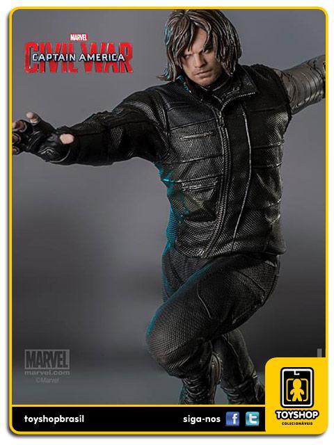 Captain America Civil War Estátua Winter Soldier Art Scale 1/10 - Iron Studios