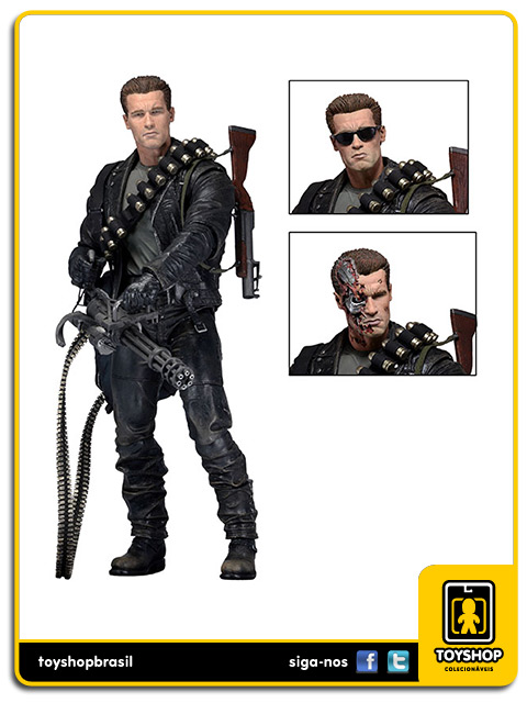 Terminator Judgment Day T-800 Ultimate Neca