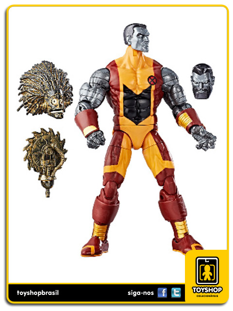 Marvel Legends X-Men Colossus Warlock Baf Hasbro