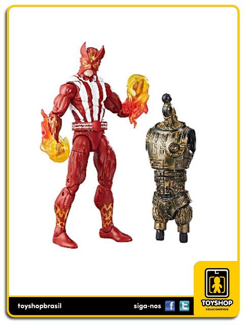 Marvel Legends X-Men Sunfire Warlock Baf Hasbro
