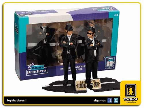 Movie Icons The Blues Brothers Jake & Elwood Set Sd Toys