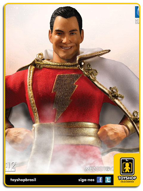DC Comics  Shazam   One 12  Mezco