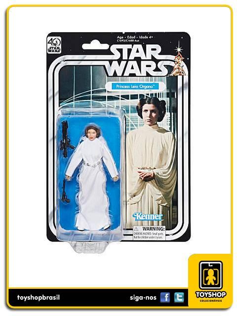 Star Wars The Black Series 40th Anniversary Princesa Leia Hasbro