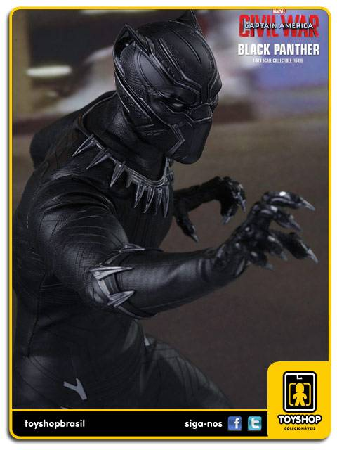 Captain America Civil War  Black Panther   Hot Toys