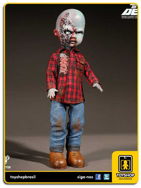 Living Dead Dolls Presents Dawn of the Dead Plaid Shirt Zombie  Mezco