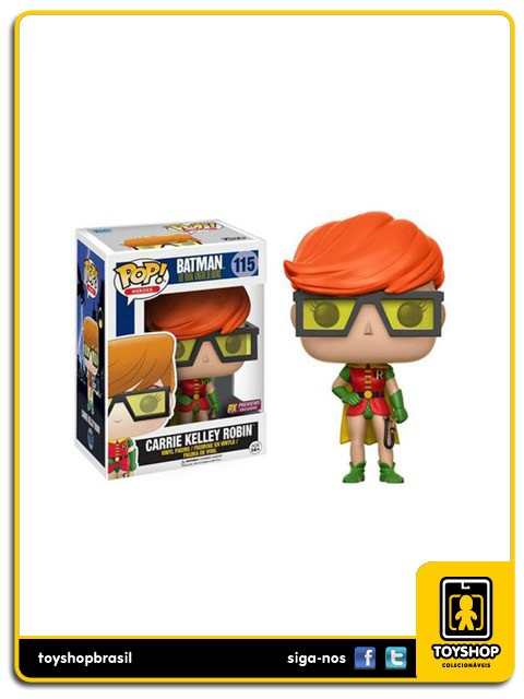 Batman The Dark Knight Returns Carrie Kelley Robin PX Exclusive Pop  Funko