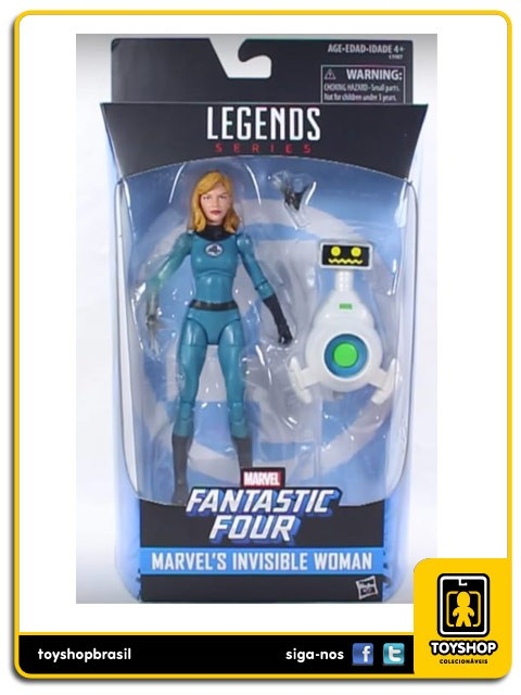 Marvel Legends Fantastic Four Invisible Woman   Hasbro