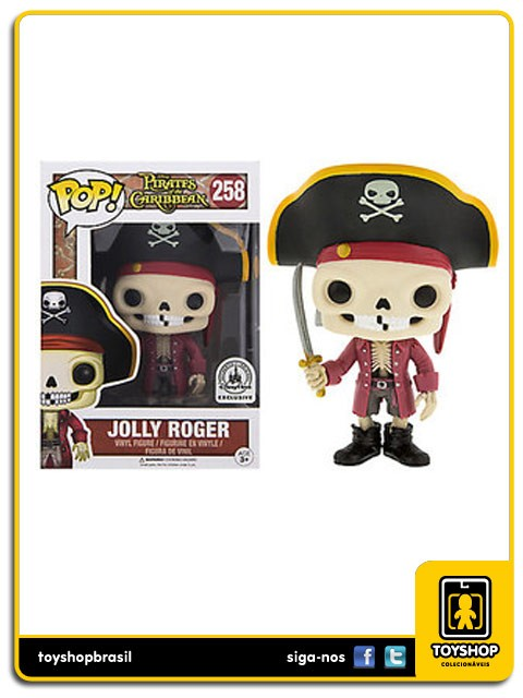 Disney Jolly Roger Exclusivo Pop Funko
