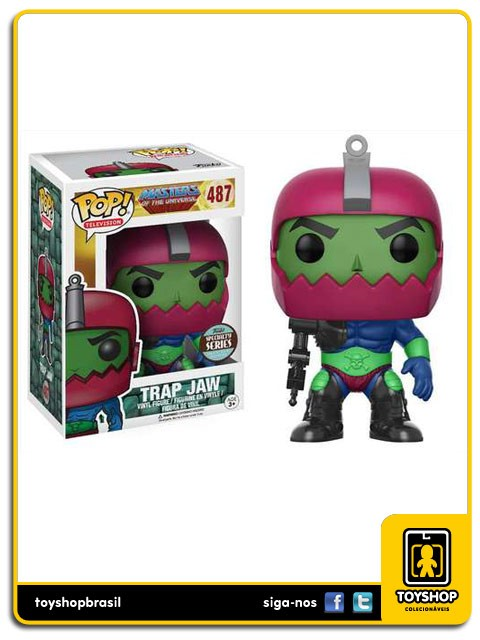 Masters of the Universe Trap Jaw Exclusivo 487 Pop  Funko
