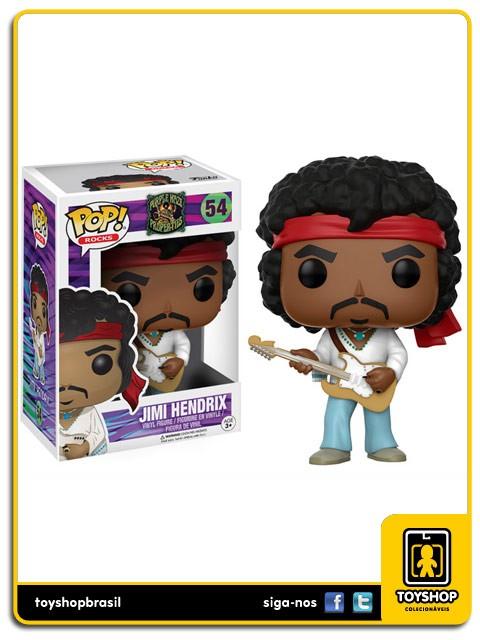 Rocks Jimi Hendrix Pop 54 Funko