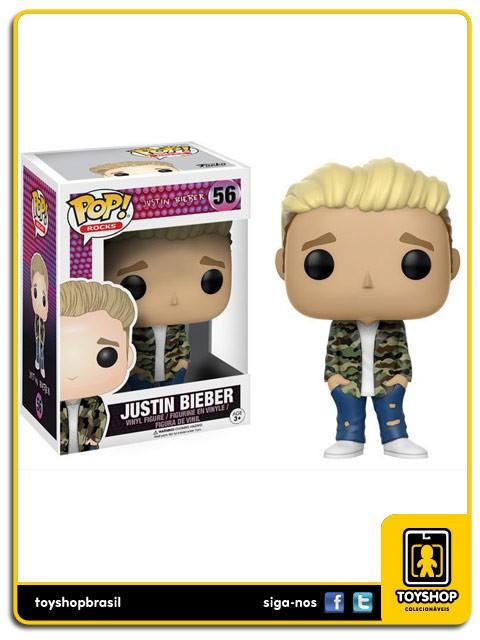 Rocks Justin Bieber Pop 56 Funko