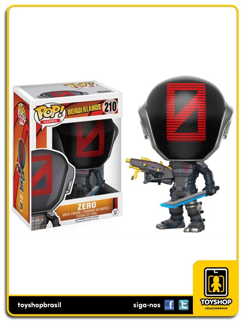 Borderlands Zero 210 Pop  Funko