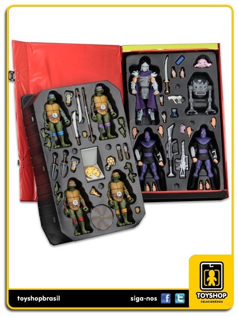 Teenage Mutant Ninja Turtles Colleclor´s Case SDCC Neca