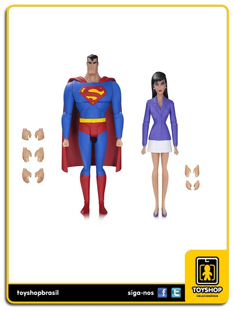 Superman The Animated Series Superman and Lois Lane Dc Collectibles