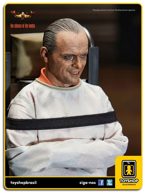 The Silence of the Lambs 1991 Hannibal Lecter Straitjacket  Blitzway