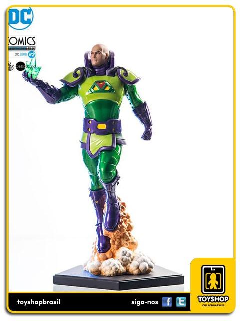 DC Comics Série 2 Lex Luthor  1/10 Art Scale By Ivan Reis  Iron Studios