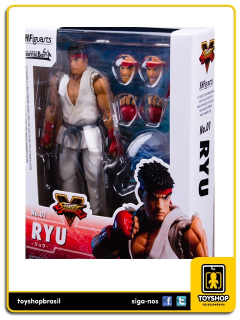 Street Fighter V S.H. Figuarts Ryu  Bandai
