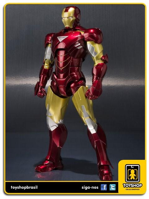 Iron Man II S.H. Figuarts Iron Man Mark VI and Hall of Armor  Bandai