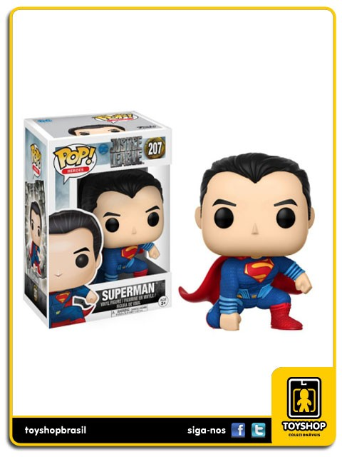 Justice League Superman 207 Pop  Funko