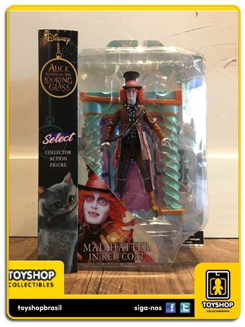 Disney Select Alice Through The Looking Glass Mad Hatter in Ted Coat Diamond