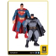Batman The Dark Knight Returns Batman and Superman 30th Anniversary 2 Pack DcCollectibles