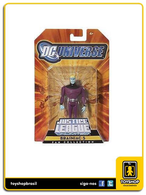 Justice League Unlimited: Brainiac 5 - Mattel