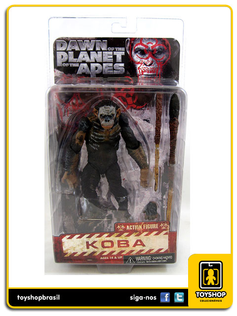 Dawn of The Planet Of The Apes Koba  Neca