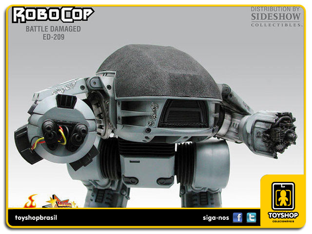 RoboCop: Battle Damaged Ed-209 - Hot Toys